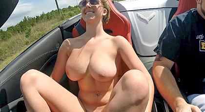 Un paseo en el coche y a follar