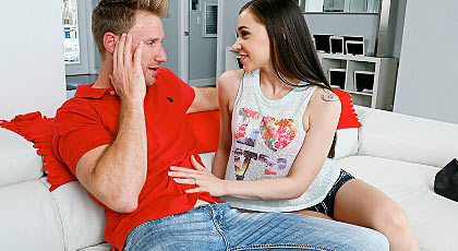 Cuernos a su esposa con jovencita