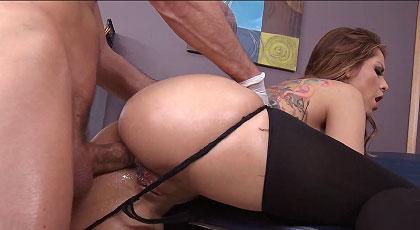 Sexo anal en la consulta