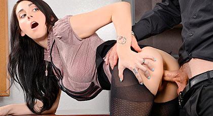 Los placeres de la oficinista